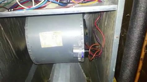 Part Replacing Blower Motor Goodman Aruf
