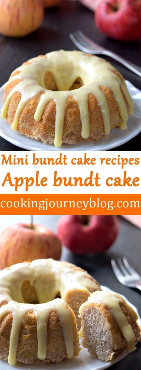 Even though these cakes aren't connected to any recipe, their shape is similar to the european version called gugelhupf. Apple bundt cake - Mini bundt cake recipes pin - Cooking ...