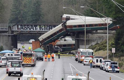 Amtrak Train In Us Derails During Debut Run On