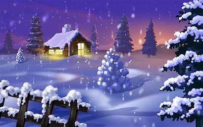 Winter Desktop Christmas Backgrounds Wallpapers Wallpapertag Related