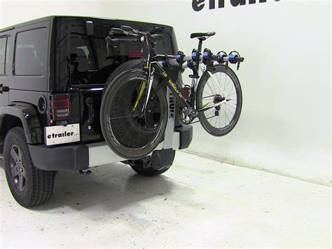 jeep wrangler bike rack 2012 jeep wrangler unlimited thule apex 4 bike rack for 1