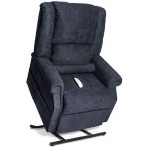 easy comfort infinite position power lift chair recliner navy curbside delivery walmart