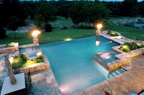 floating candles 40 fantastic outdoor pool ideas renoguide