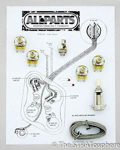 Les Paul Pots Switch Wiring Kit For Gibson Guitar Complete With Diagram Cm For Sale Online