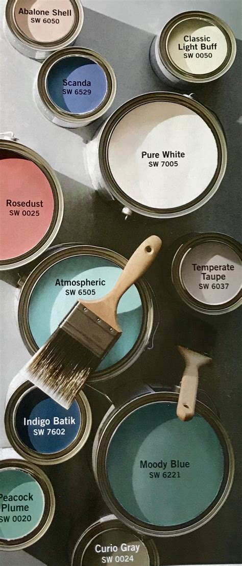 pottery barn sherwin williams summer 2018 paint