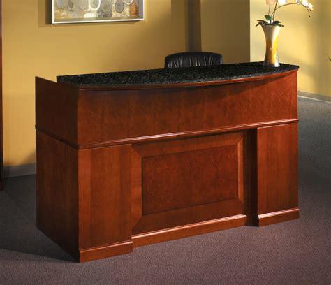 mayline furniture srcdm sorrento reception desk with