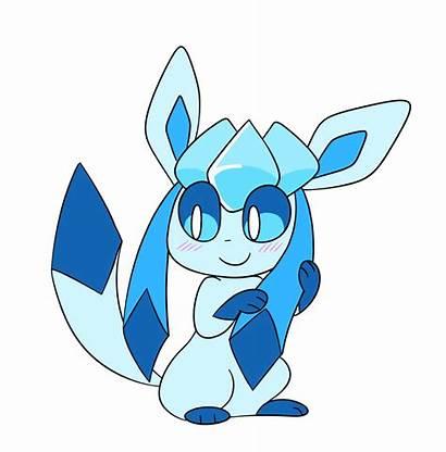 Glaceon Pokemon Hair Eevee Touching E621 Meme