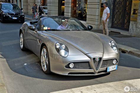 Alfa Romeo 8c Spider Specs