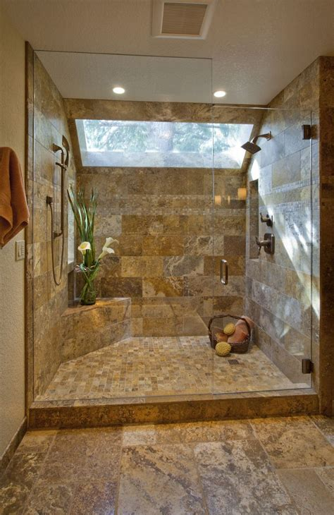 Bathroom Shower Ideas by Best 25 Travertine Shower Ideas On Travertine
