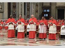 Four reasons why this consistory was an unusual one