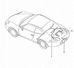 2004 Porsche 911 Carrera Wiring Harness Engine