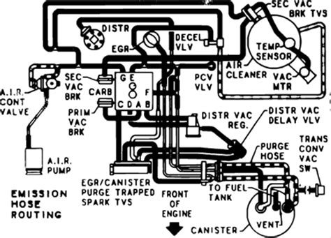 Need Schemmatic Diagram Vacum Lines For