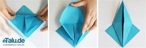 Origami Kranich Anleitung : origami kranich falten einfache diy anleitung ~ Frokenaadalensverden.com Haus und Dekorationen