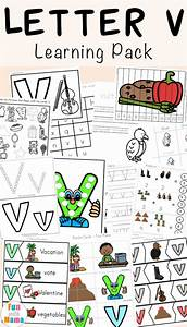 Free Letter V Worksheets