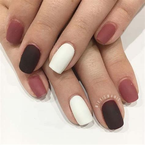 matte nail color 23 must matte nail designs for fall stayglam