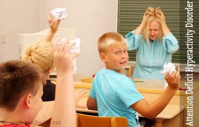 attention deficit hyperactivity disorder  symptoms