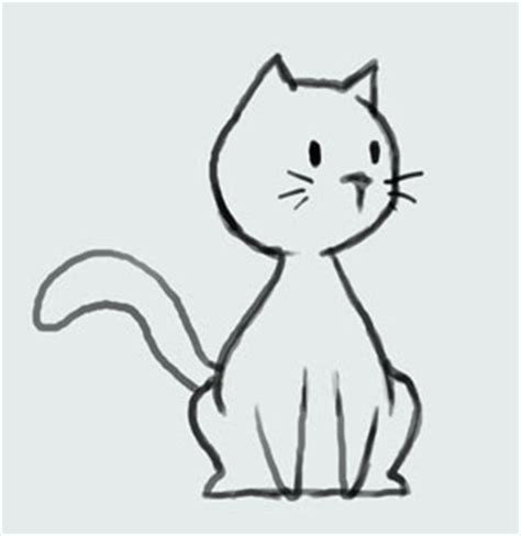 cat drawing easy learn how to draw kitty cat step by step