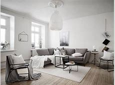 Scandinavian Living Room Inspiration Happy Grey Lucky