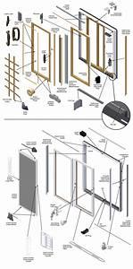200 Series Narroline Gliding Patio Door Parts Diagram