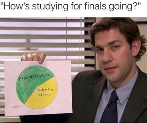 College Finals Meme - lol yes this is me in french class i m either on pinterest procrastinating or annoying the