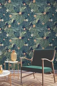 Papier Peint Espace : 1001 mod les de papier peint tropical et exotique ~ Preciouscoupons.com Idées de Décoration