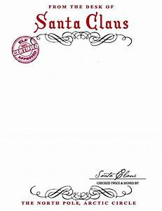 santa claus letterhead will bring lots of joy to With santa claus letter to child