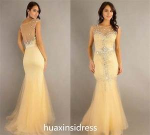dress evening dress bridesmaid wedding dress prom With yellow evening gowns wedding