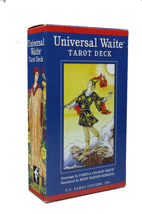 We did not find results for: UNIVERSAL FAMOUS RIDER WAITE TAROT CARDS DECK PAMELA COLMAN SMITH NIB DIVINATION | eBay