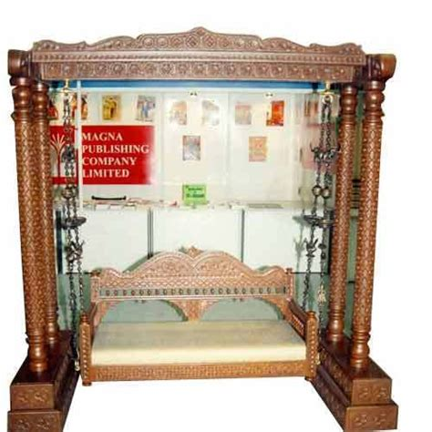 wooden carved swing view specifications details