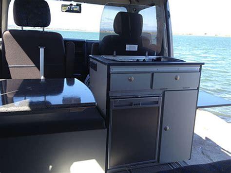 meuble cuisine sous evier aménagements de vans