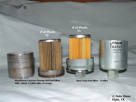 Why Change Fuel Filter by Workhorse Fuel Filter Change Page 3 Irv2 Forums