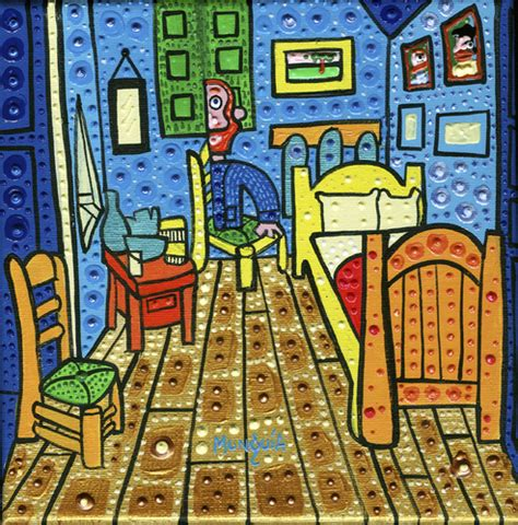 The Bedroom At Arles Analysis by El Cuarto De Gogh By Munguia