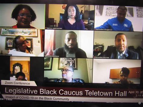legislative black caucus dives deep  covid impacts
