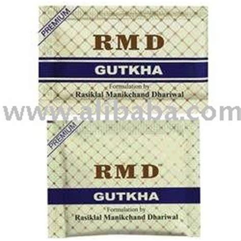 rmd gutkha ingredients in diet