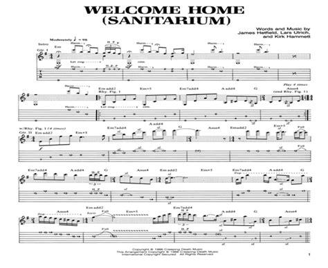 Welcome Home Sanitarium