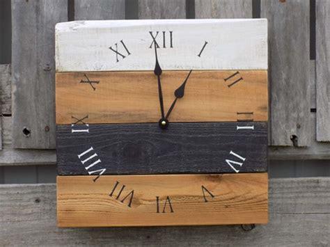 incredible diy pallet wall clock ideas pallets designs