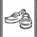 Loafers Printable Flash Template Shoe Card Shoes Sketch Loafer Templates Sketchite Cards sketch template