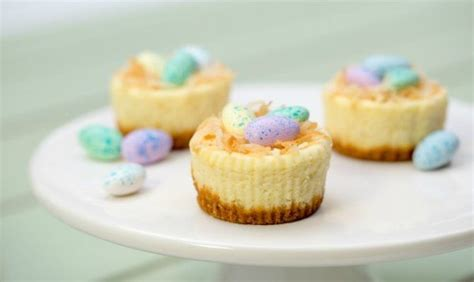 This ultimate guide to easter crafts contains over 50 gorgeous craft ideas for 2021, as well as tips for creating handmade greetings cards and even how to sell your homemade creations at craft fairs (once craft fairs are allowed to start up again…). Easter Mini Cheesecakes | Recipe | Mini cheesecake recipes ...