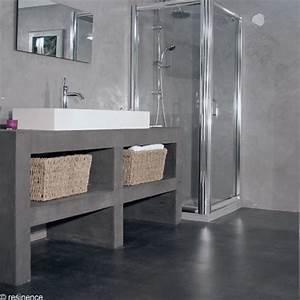 Béton Ciré Pas Cher : resinence pas cher awesome plan de interieur maison ~ Premium-room.com Idées de Décoration