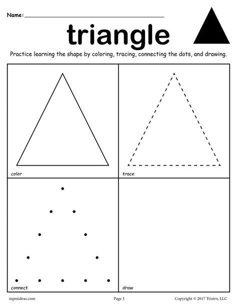 12 shapes worksheets color trace connect amp draw 402 | Learning 20Shapes color trace draw triangle e56c611c f52b 4b33 8c53 5034d5319c2d 1024x1024