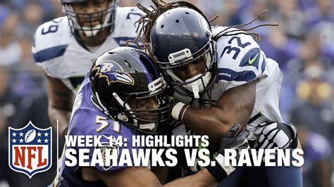 seahawks  ravens week  highlights nfl youtube