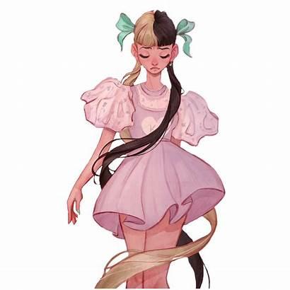 Melanie Martinez Anime Drawings Drawing Sketch Cartoon
