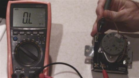 how to test a whirlpool dryer timer no heat