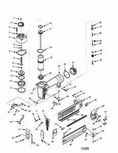 Craftsman Model 351184240 Nailer Genuine Parts