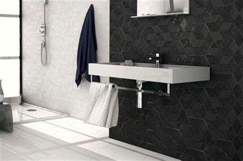 Large White Tiles For Bathroom by Black Tiles Walls And Floors
