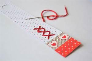 Marque Page En Papier : f te des p res marque pages en papier maman tout faire ~ Melissatoandfro.com Idées de Décoration