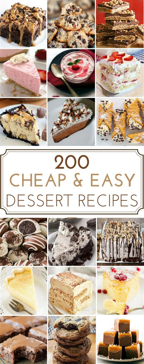 The 25+ Best Easy Cheap Desserts Ideas On Pinterest