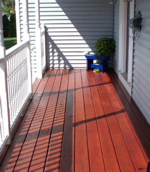 Lasting Deck Stain Or Paint by Stearns Painting Repair And Restore Outdoor Decks