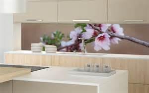 glasrückwand küche küche druckmotiv kirschblueten glasrückwand küche motiv glasrückwand küche mit motiv