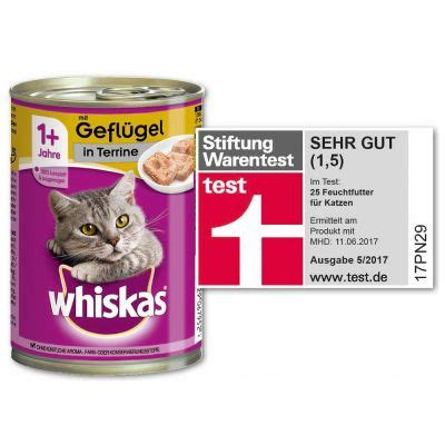 whiskas katzenfutter guenstig bei zooplus whiskas  dosen